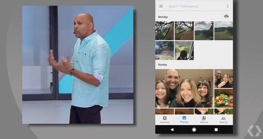 Google I/O photo sharing