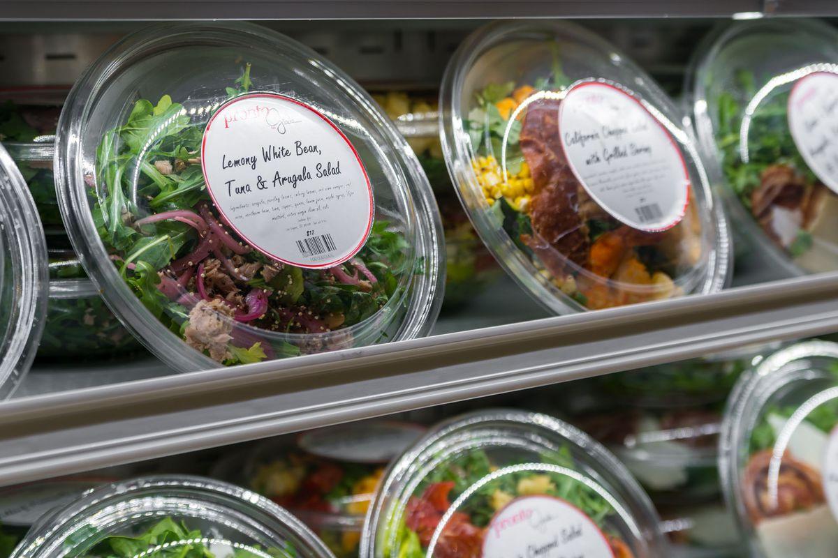 Salads at Pronto by Giada
