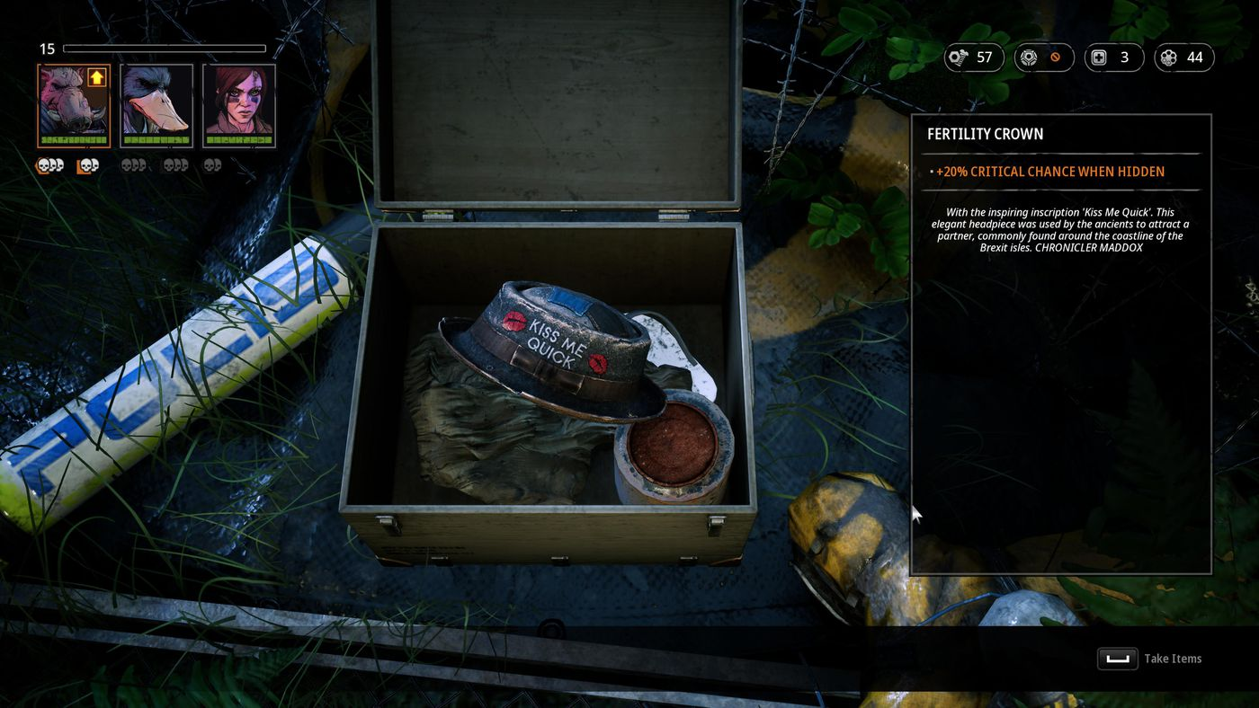 Mutant Year Zero nails the real-time stealth, fumbles as