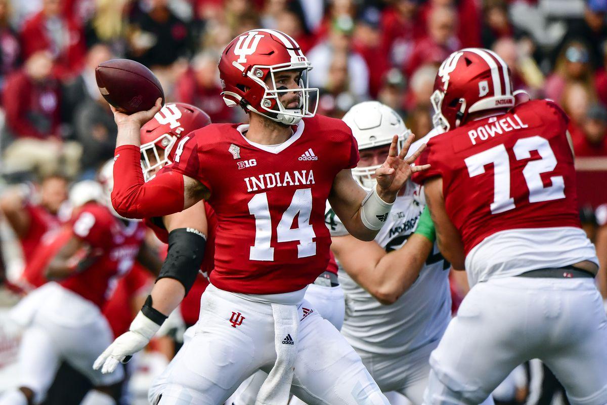 NCAA Football: Michigan State at Indiana