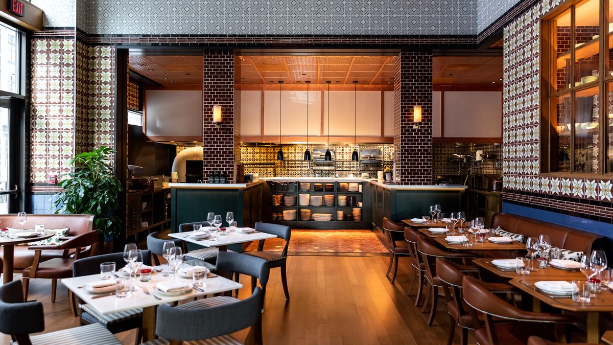 Inside San Morello S Mid Century Italian Dining Room At The Shinola Hotel