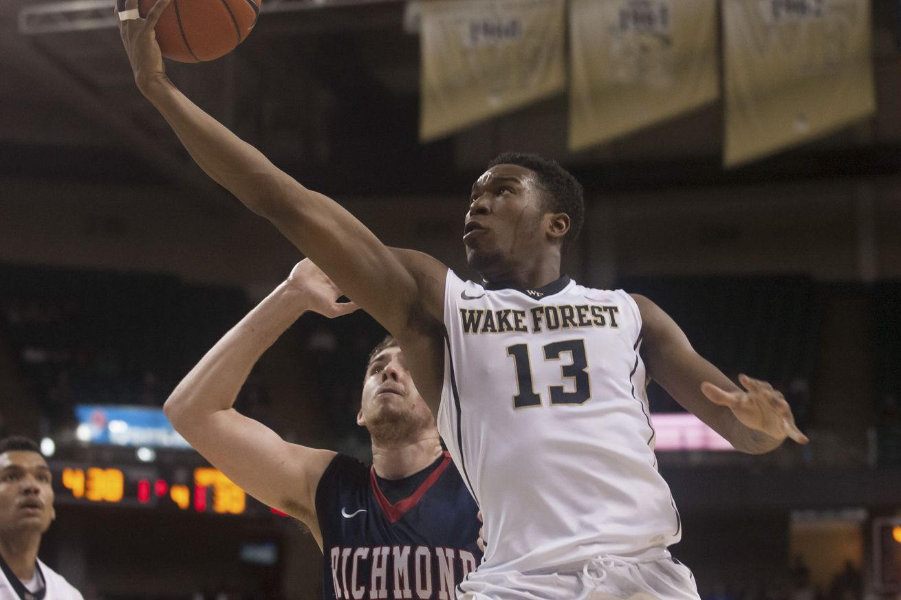 wake forest basketball: non-conference schedule initial analysis