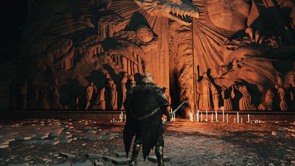 Dragon's Sanctum - Elana's door