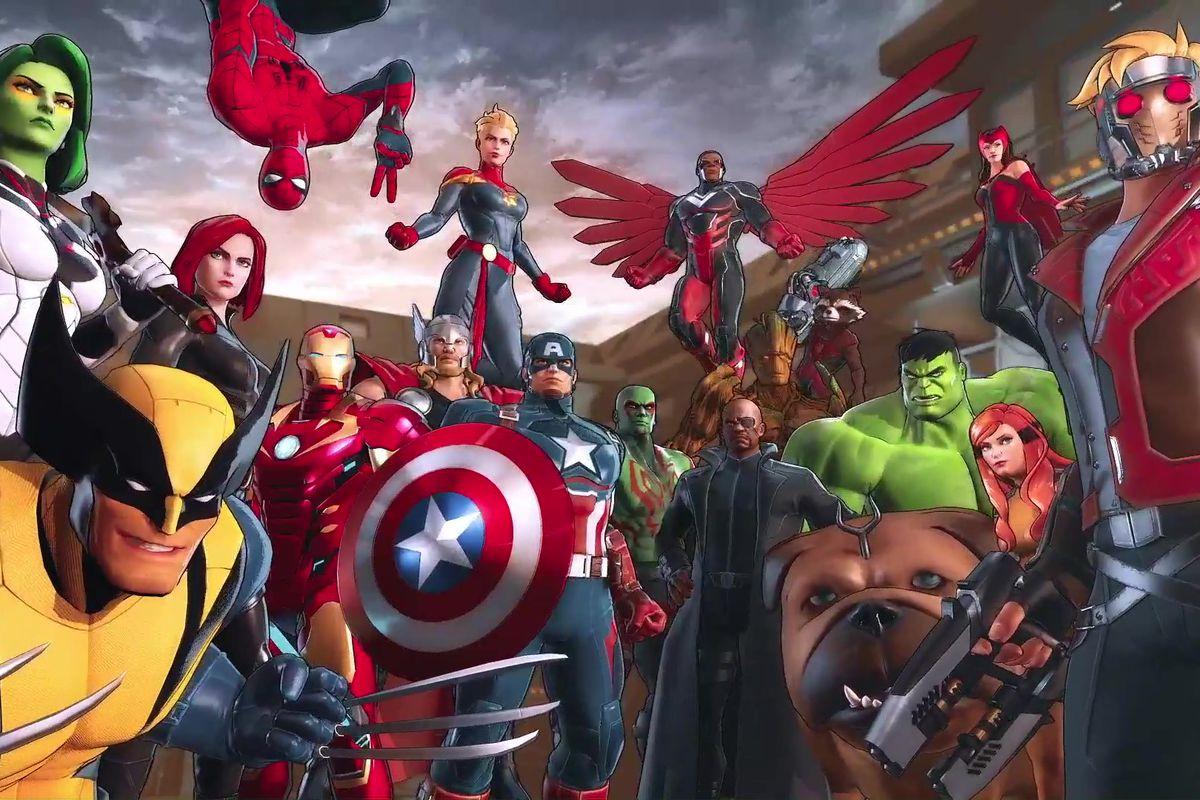 The Fantastic Four return to Marvel games in Marvel ...