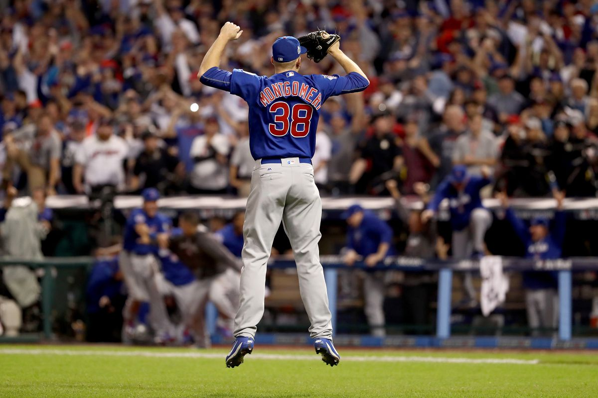 Cubs' Mike Montgomery's 2016 World Series moment