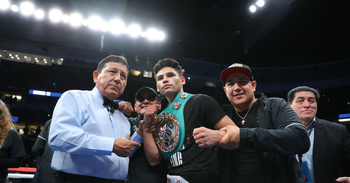 Video: Rising boxing star Ryan Garcia scores jaw-dropping first-round KO
