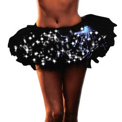 This is an outfit whose sole purpose is to light up your nether regions. There are 25 of these on the site.