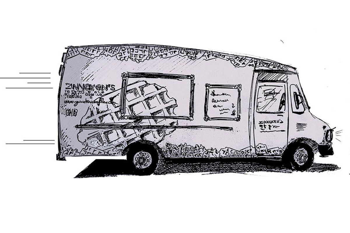 What the Zinneken's truck could look like.