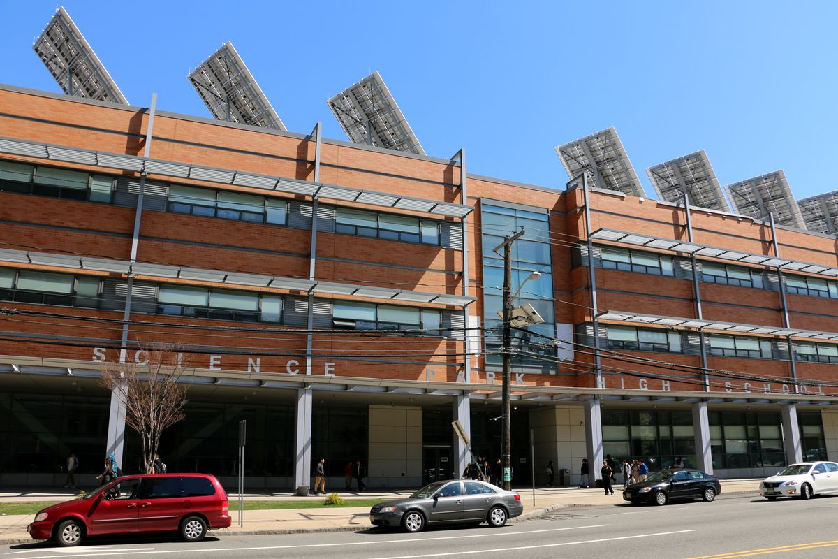 Science Park High School, one of the city's high-performing magnet schools.