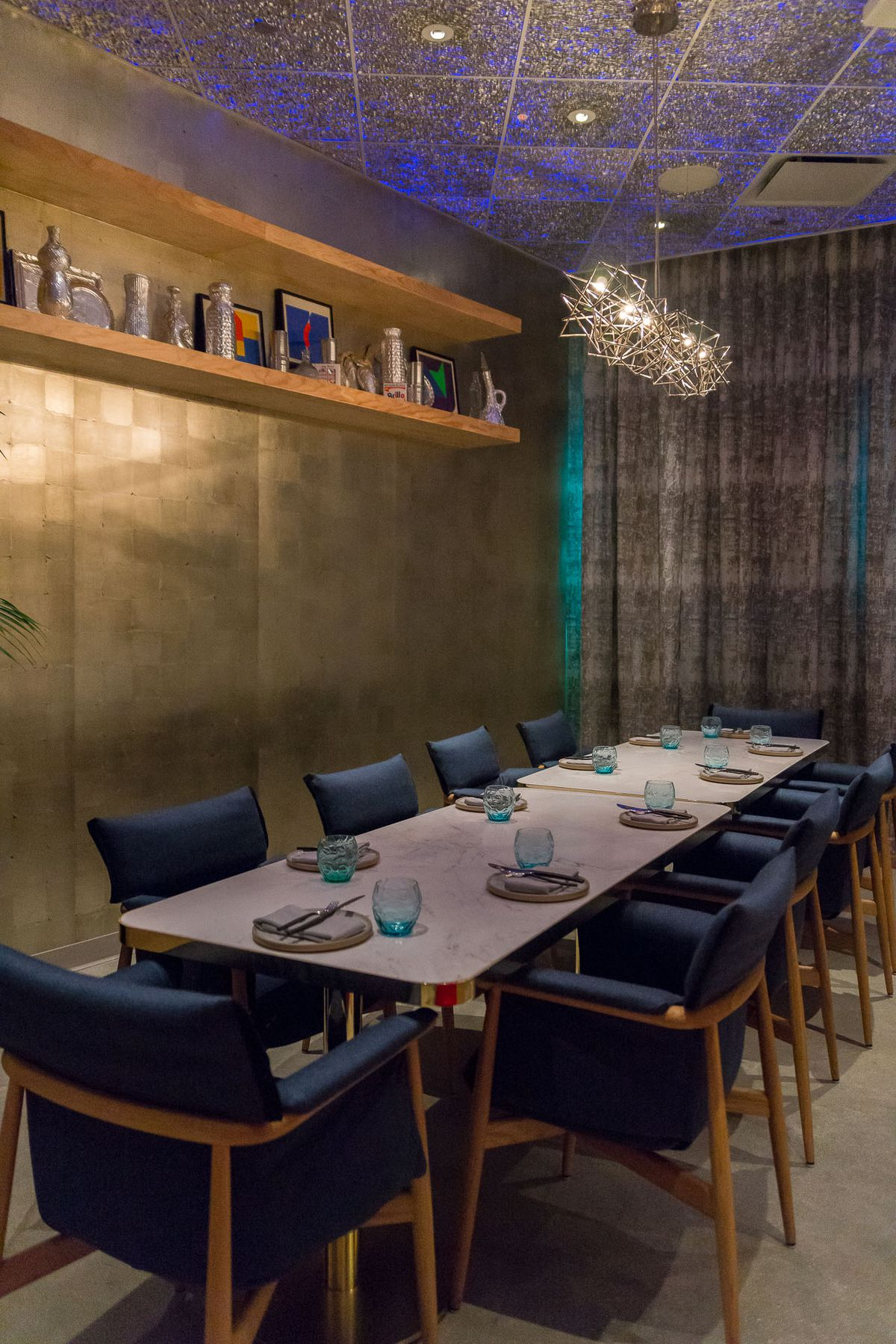 The private dining room at Best Friend