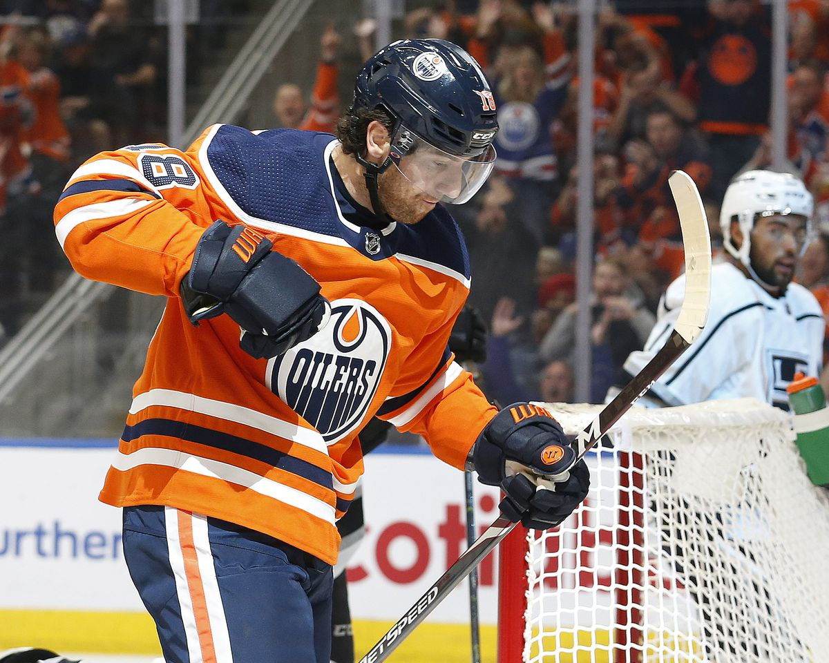 NHL: Los Angeles Kings at Edmonton Oilers