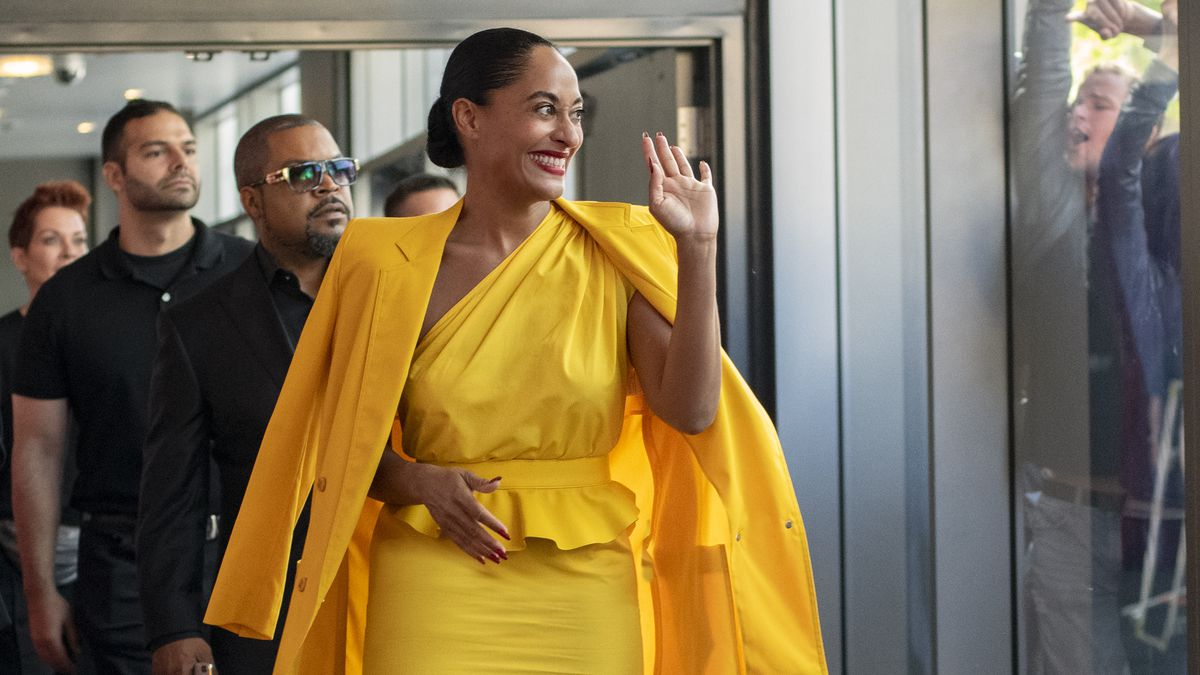 Tracee Ellis Ross as a Diana Ross-like singer in The High Note