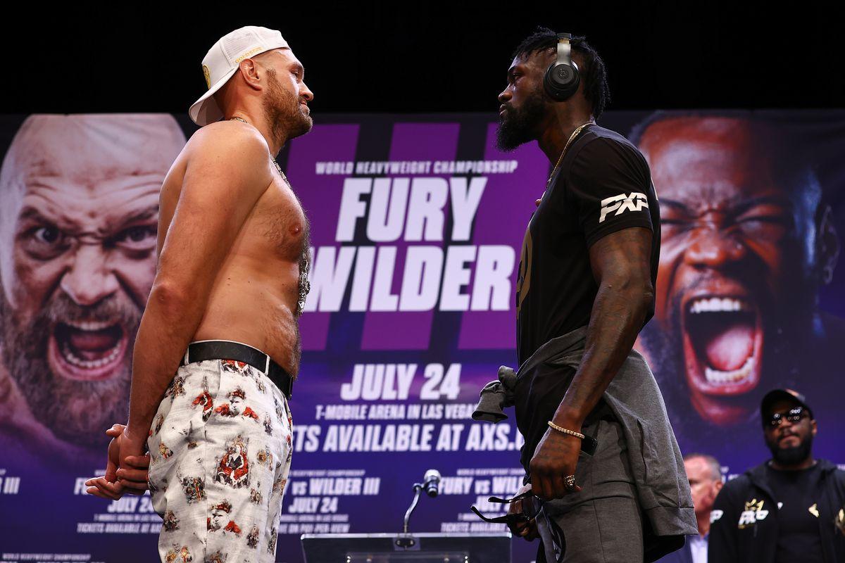 Tyson Fury v Deontay Wilder - Press Conference