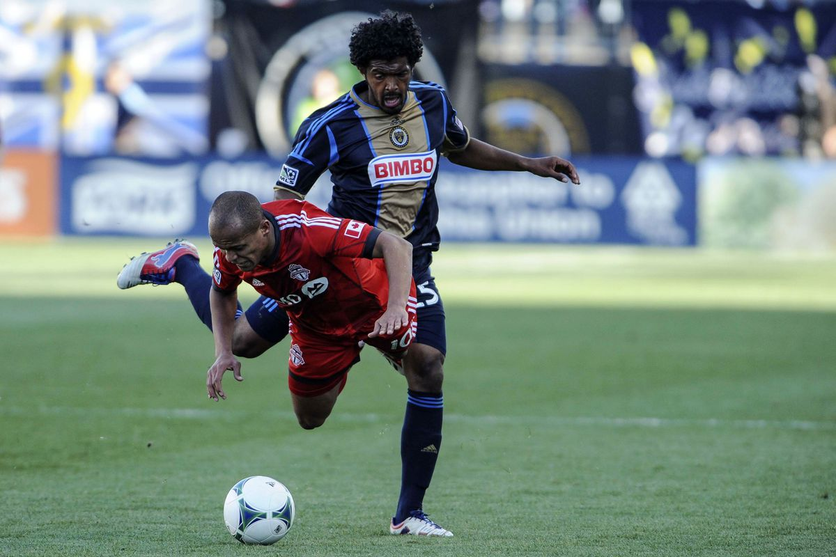 Sheanon Williams is a right back, but is a huge factor in the Philadelphia Union attack.