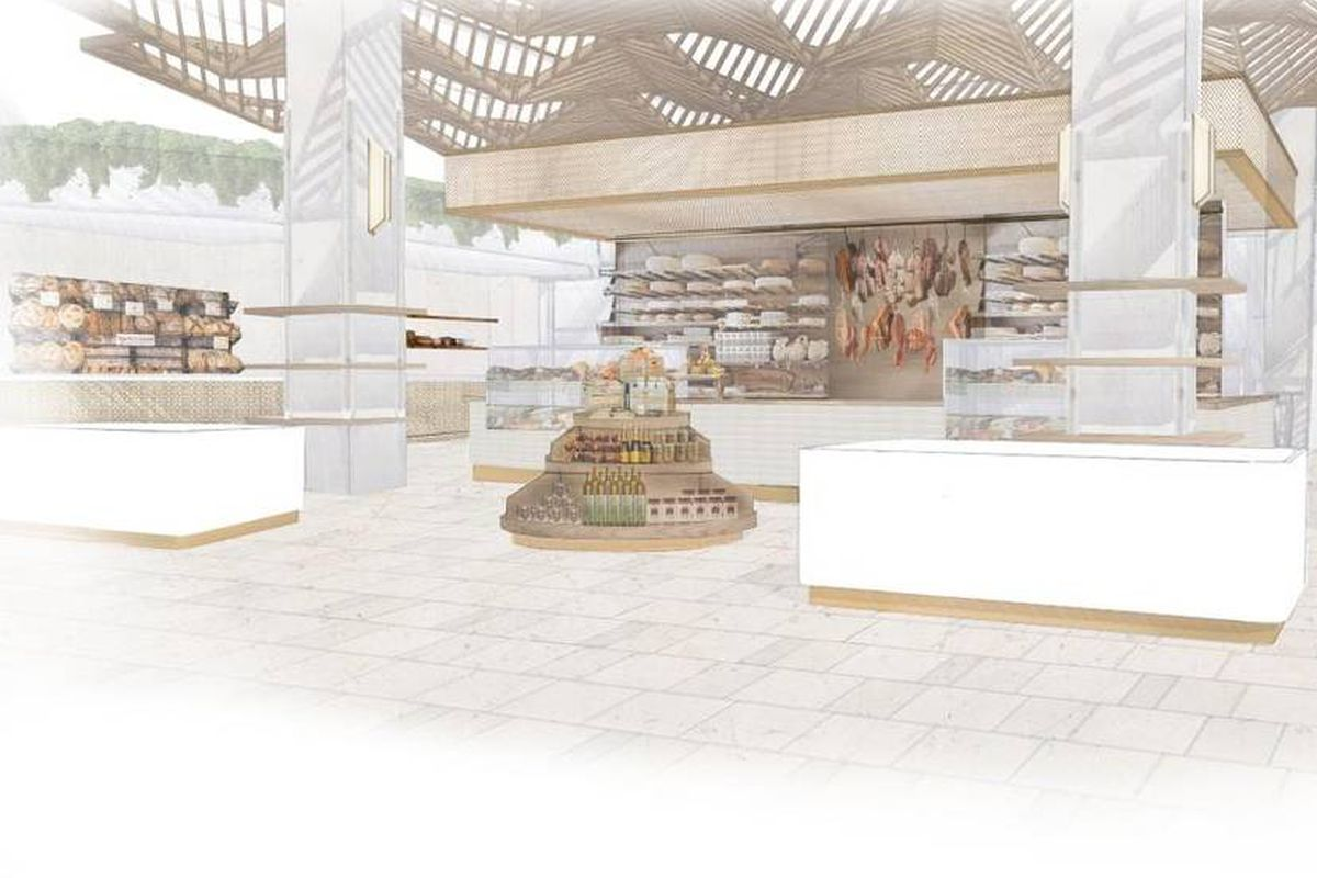 UPDATED: A 38,000 Square Foot Italian Food Hall Is Coming to ...