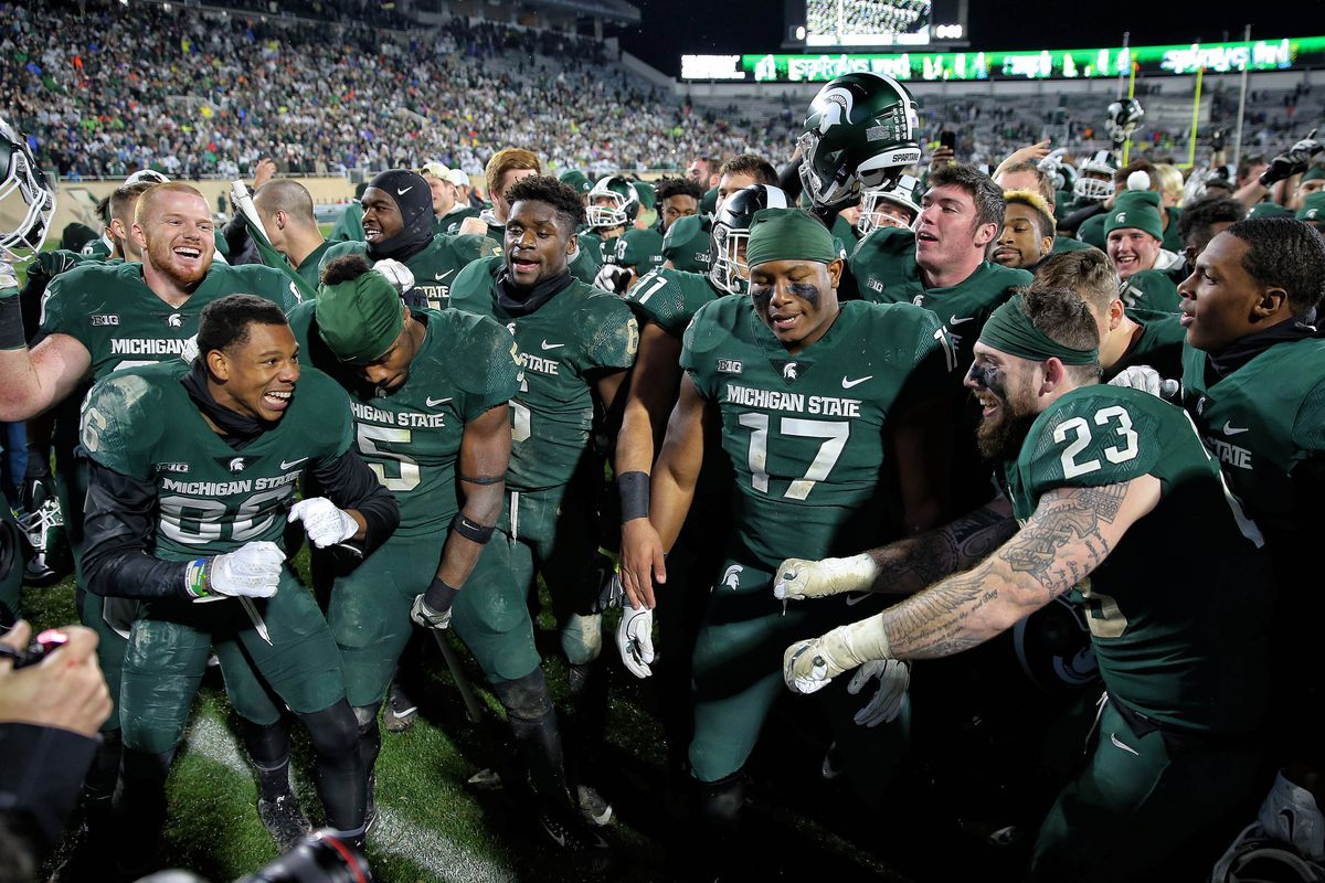 Michigan State Just Made College Football Playoff Rankings History