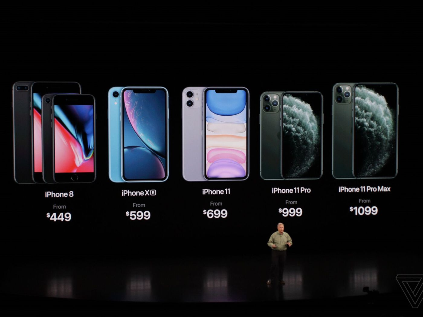 The Iphone 11 Pro And Pro Max Price 699 999 And 1 099 Respectively The Verge