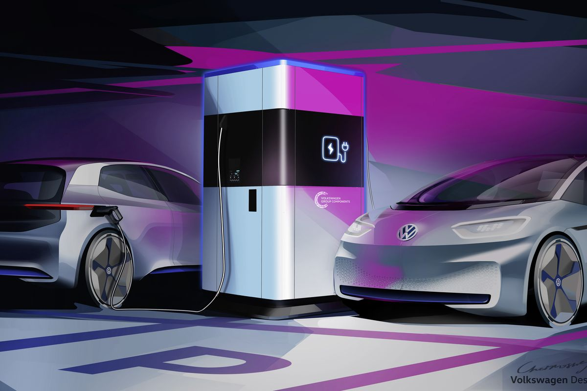 Want To Own An Electric Car But Don T Have A Permanent Place Charge It Vw Will Bring The Charger You
