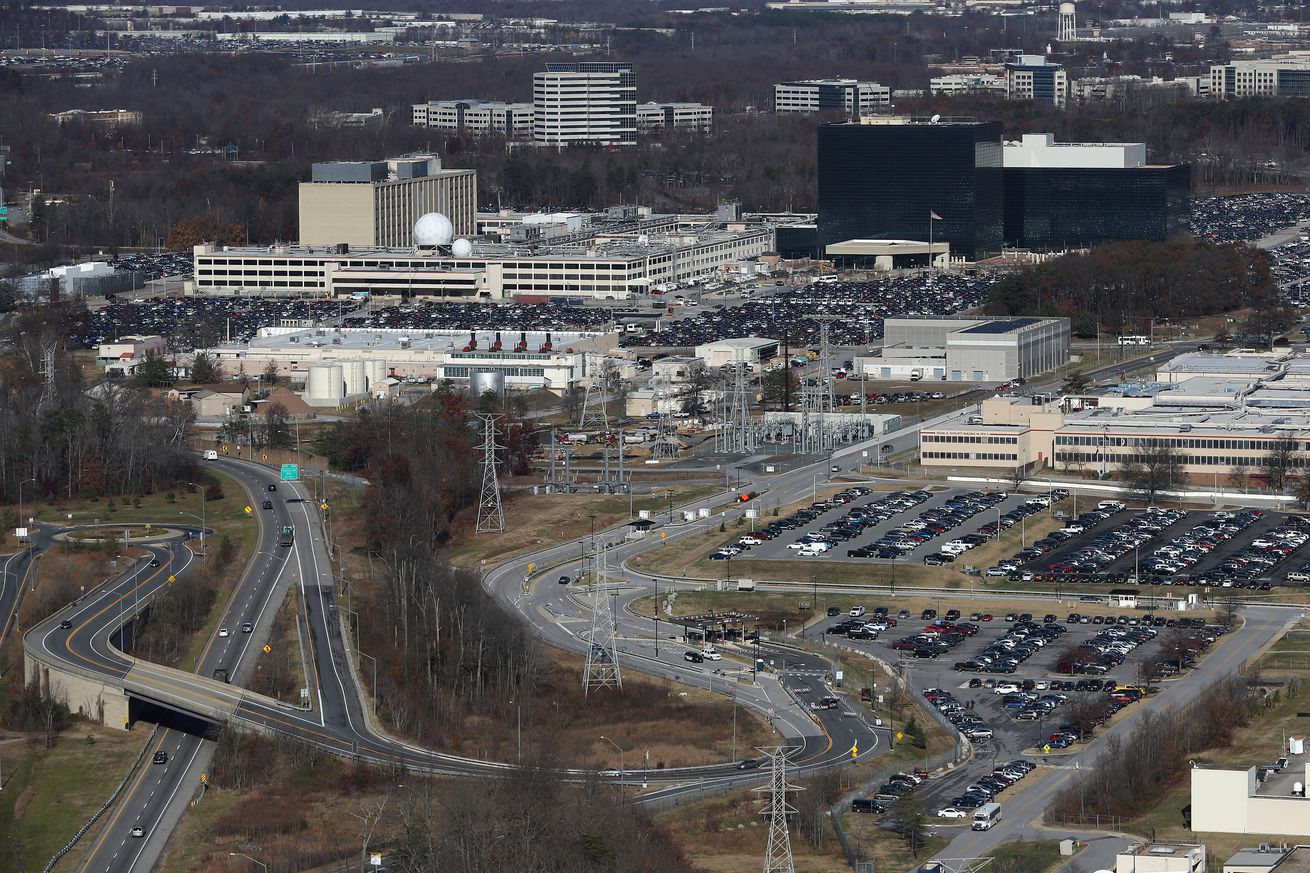 at least one person reportedly injured in shooting outside nsa headquarters