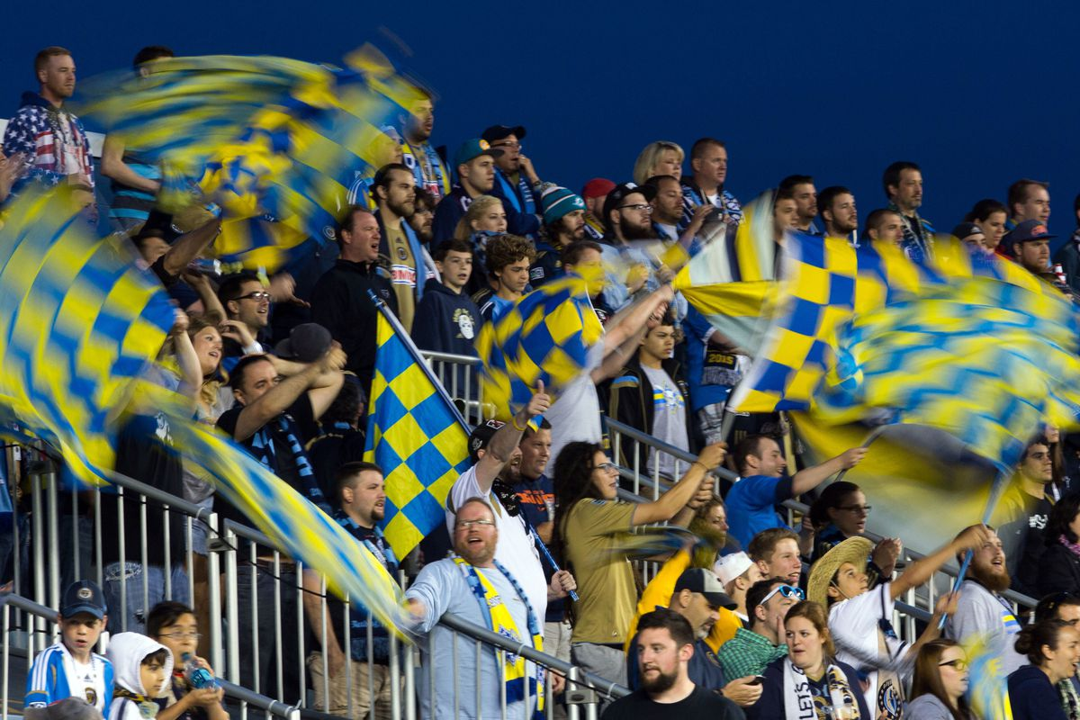 Against Columbus, The Union gave these folks a reason to cheer.