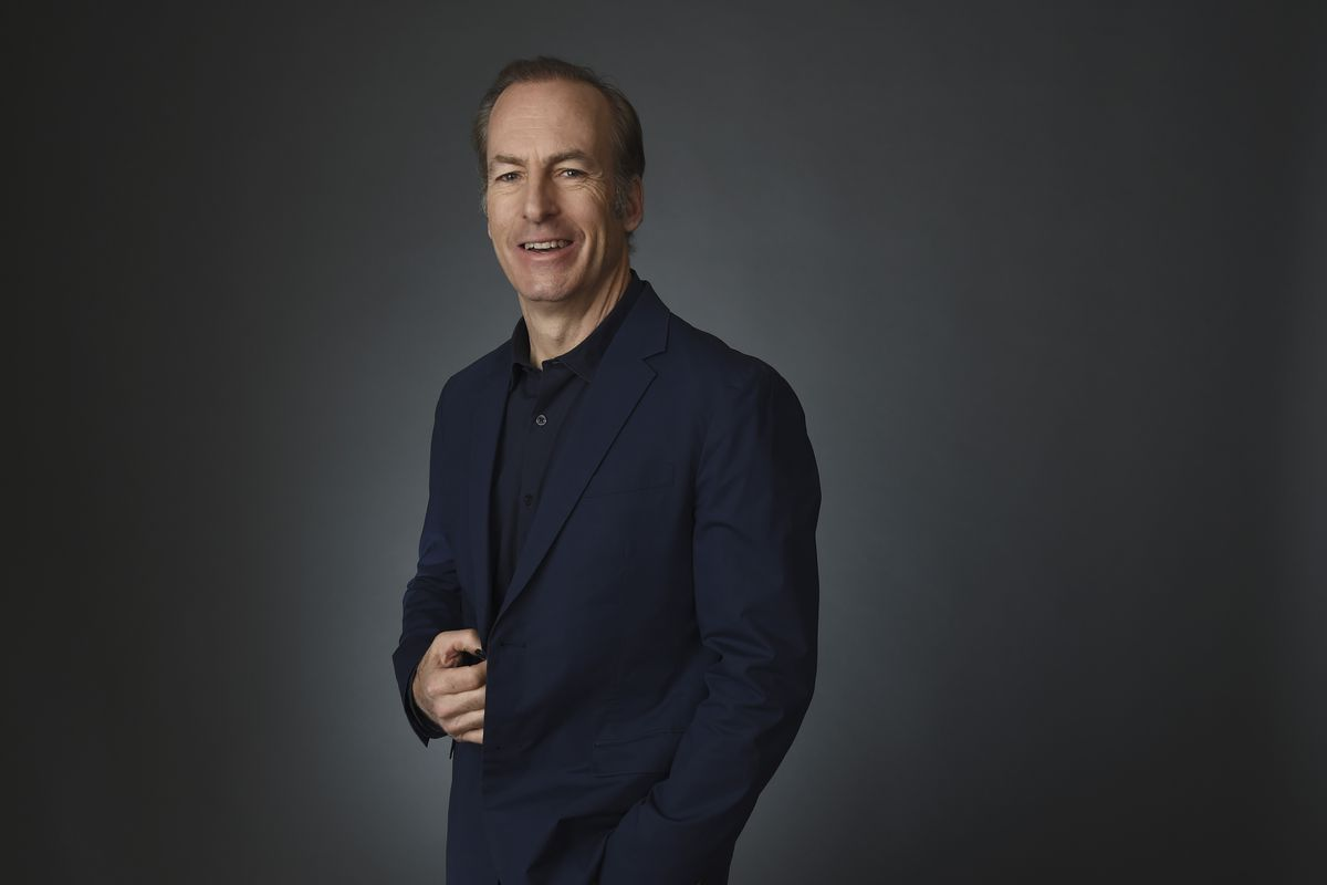 Bob Odenkirk poses for a portrait during the 2020 Winter Television Critics Association Press Tour in Pasadena, California.