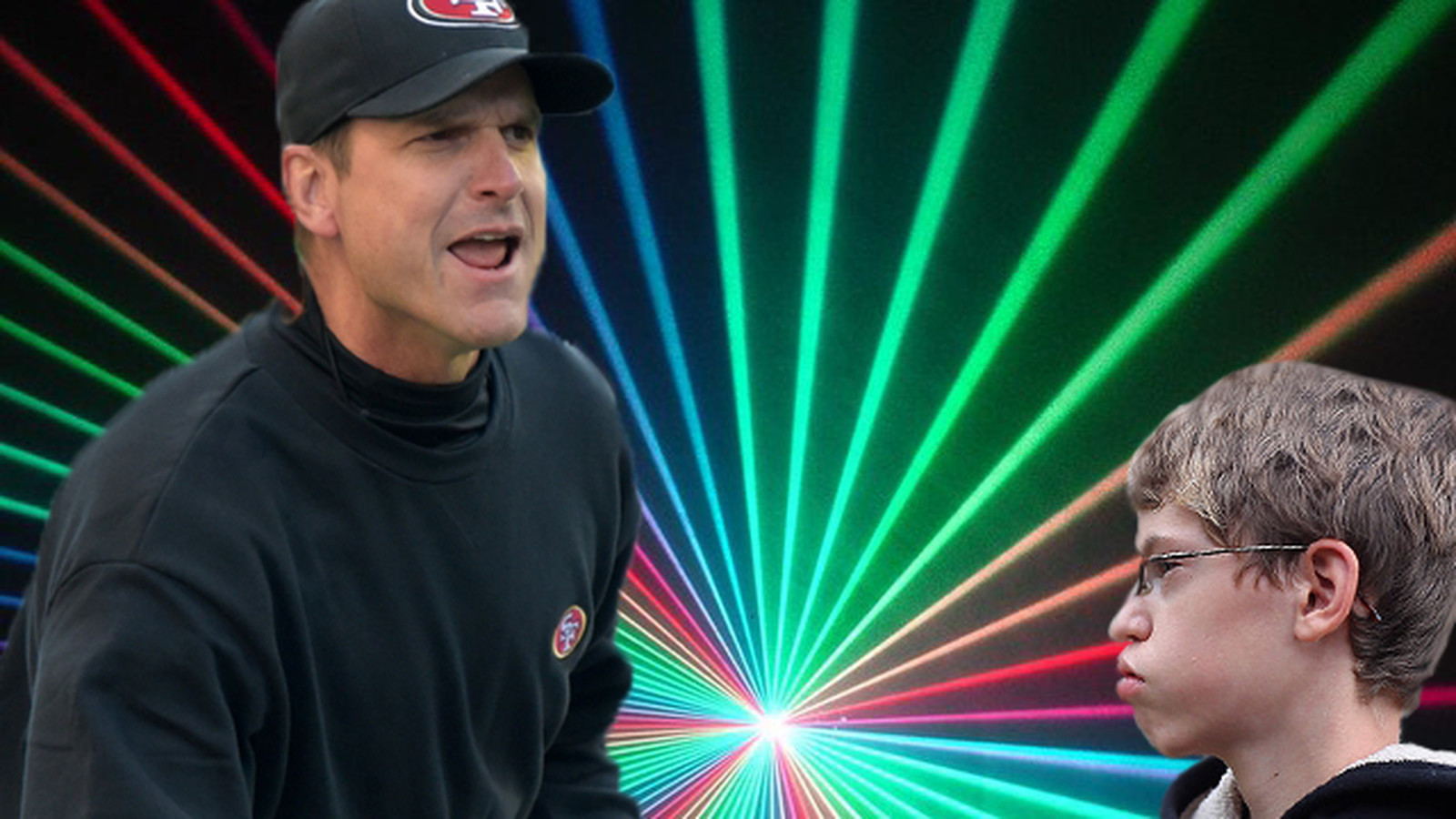Jim Harbaugh Won Laser Tag By Hunting A 10 Year Old