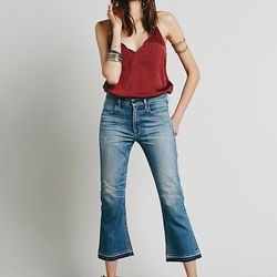 Free People x COH Summer of Love Crop Flare, $248