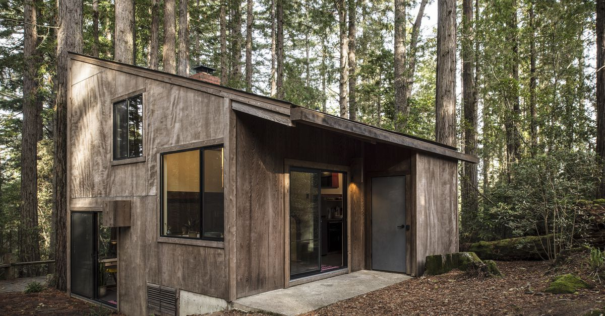 At California S Sea Ranch A Tiny Home With A Big Design
