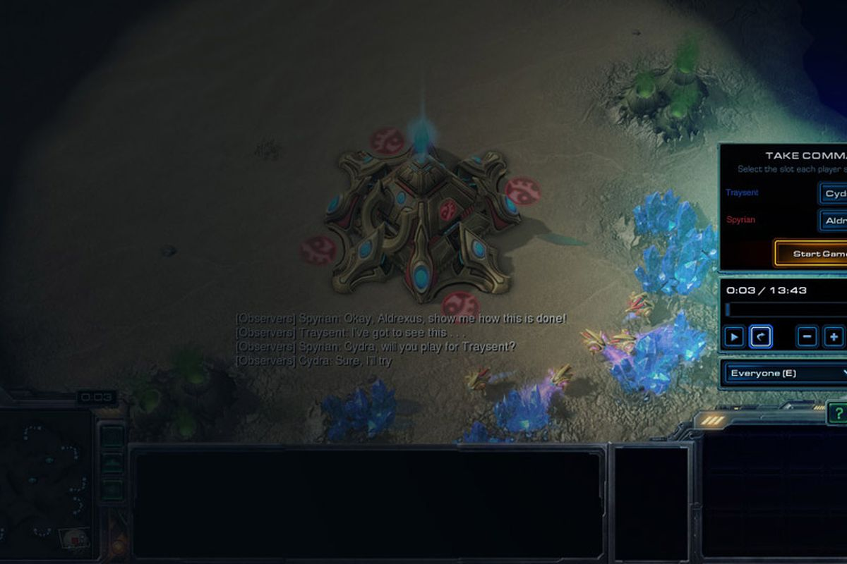 Starcraft 2 Heart Of The Swarms New Replay And Resume Features