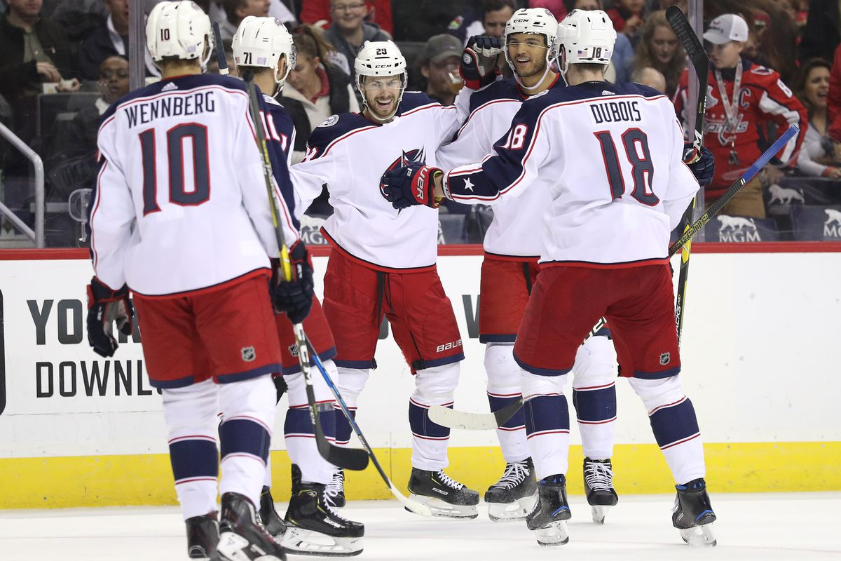 37362fa5ee3 The Blue Jackets stick it to the champs in DC