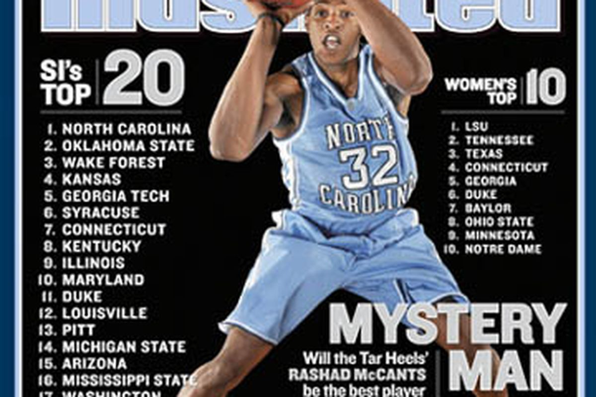 Mystery Man, indeed, Sports Illustrated. Mystery Man indeed.