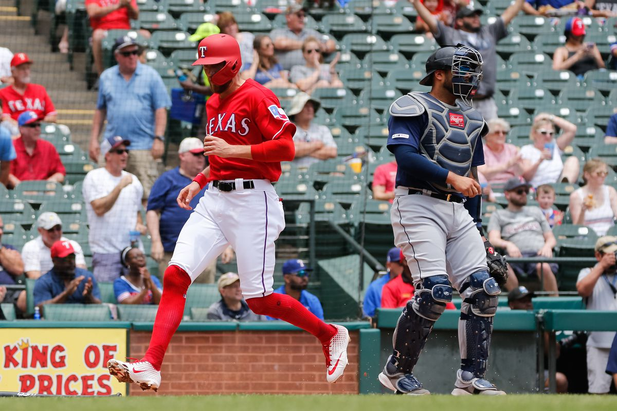 reputable site 86ada aa977 Rangers make swift work of Mariners with series-sweeping ...