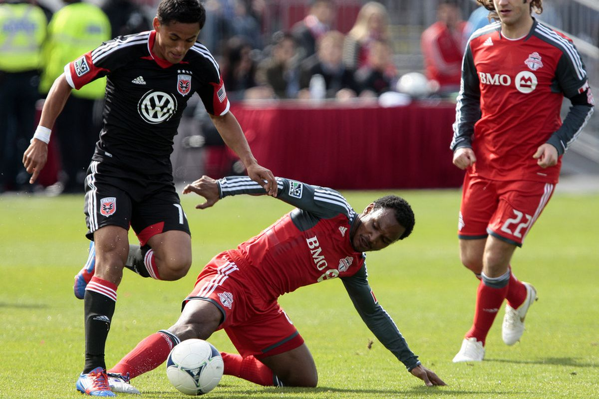 Julian De Guzman and Toronto FC have improved since we last met, but D.C. United will still have plenty of advantages thanks to TFC's involvement in the Voyageurs Cup.