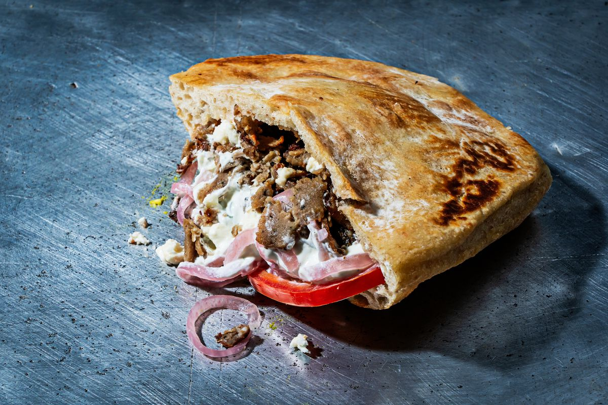 A gyro from Satellite