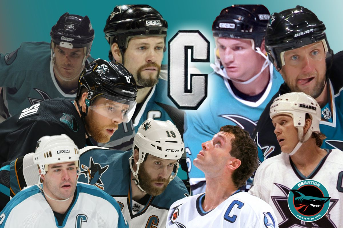A look back at the San Jose Sharks' former captains