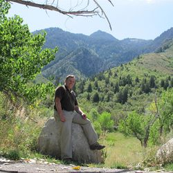 Hiking Neffs Canyon above Olympus Cove is a welcome escape for Salt Lake mental health advocate Owen Ashton.