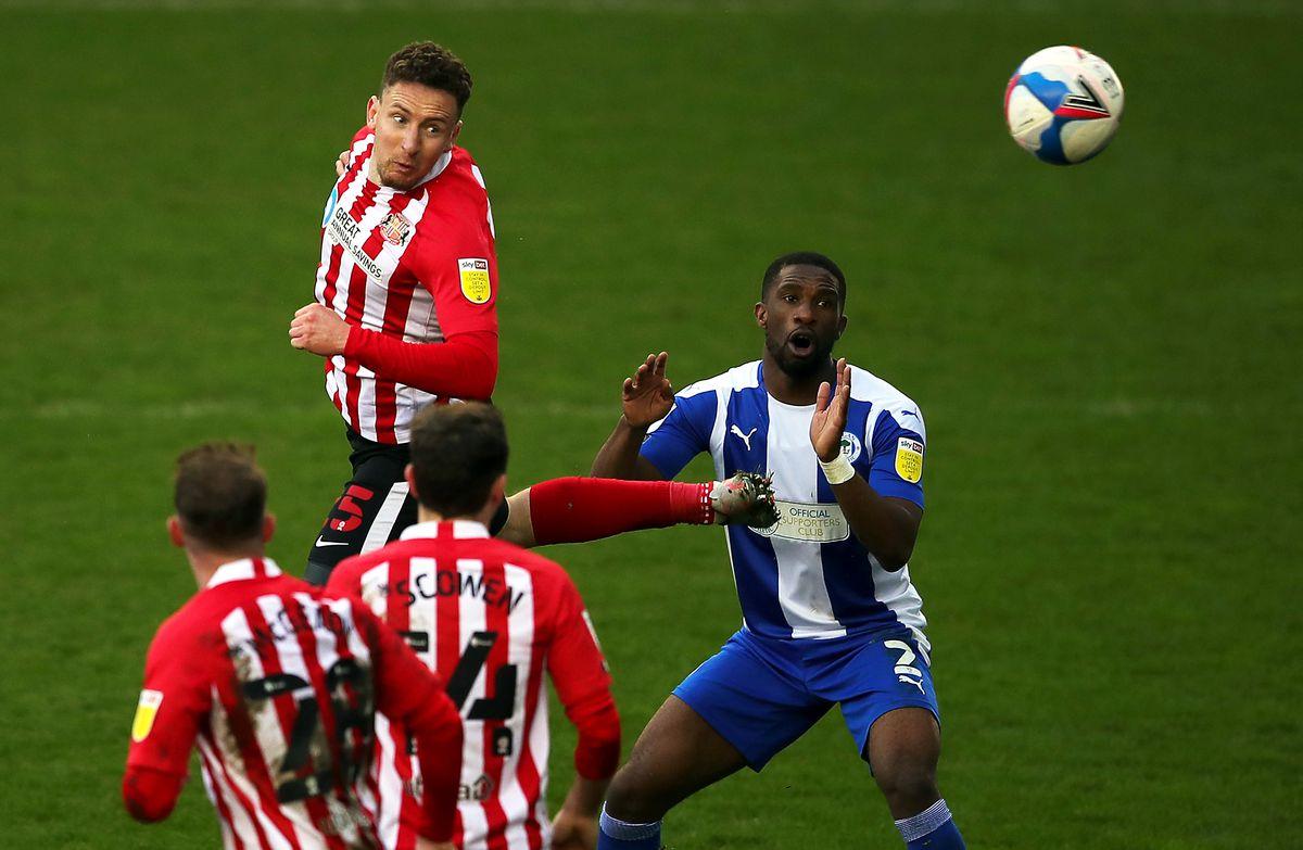 Wigan Athletic v Sunderland - Sky Bet League One - DW Stadium