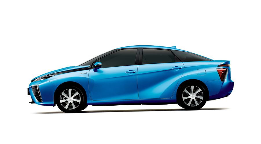 Toyota S Answer To Tesla Is This 70 000 Fuel Cell Car