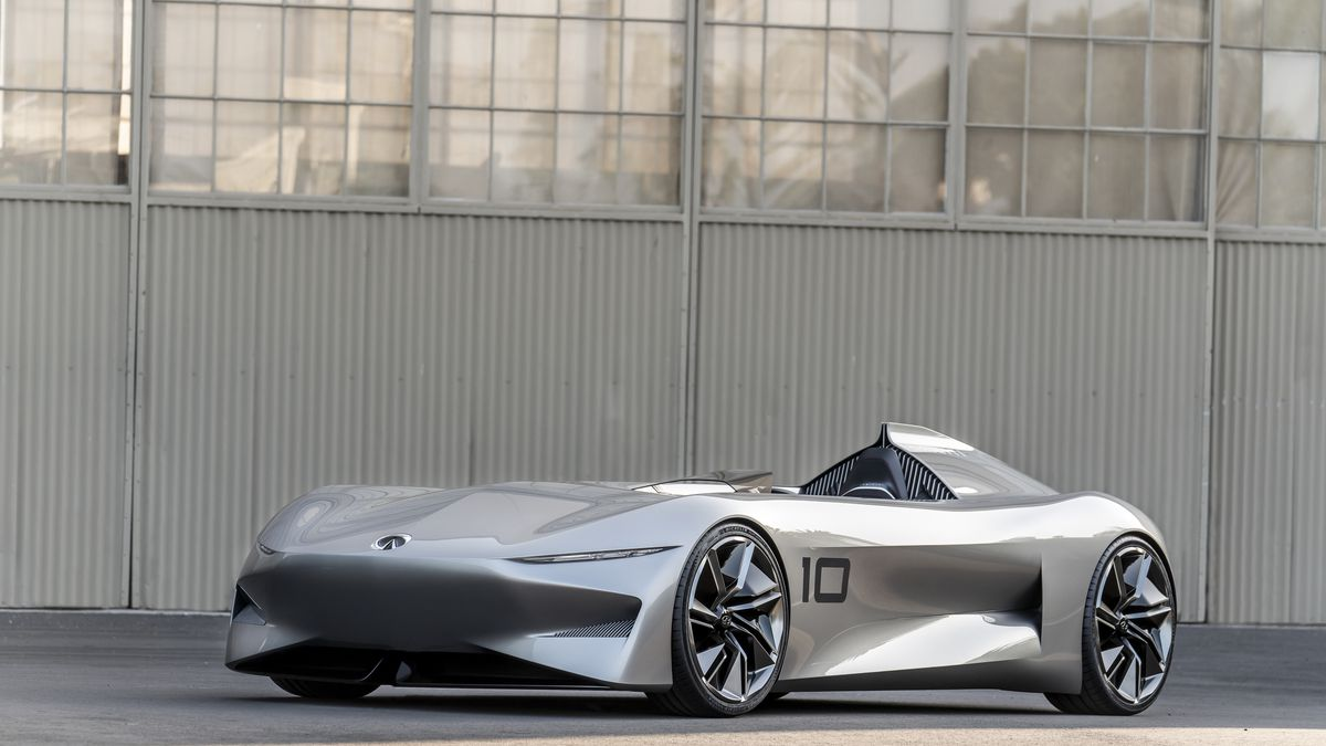 Infiniti S New Electric Concept Car Can Only Be Described As Vintage Future The Verge