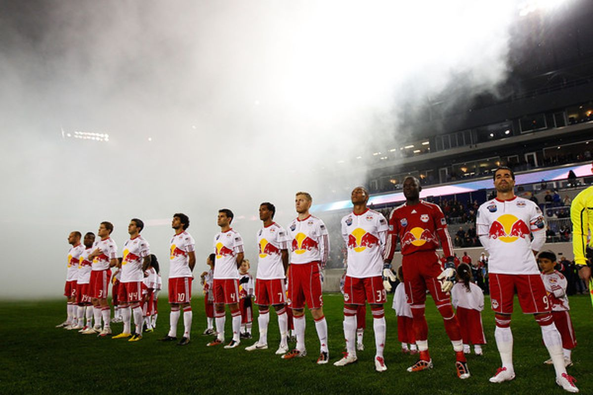 They're baaack!  (Well, some of them.) (Photo by Mike Stobe/Getty Images for New York Red Bulls)
