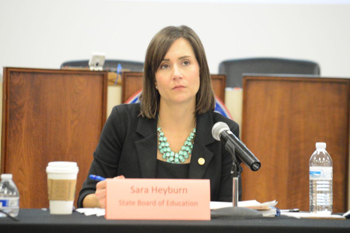 Sara Heyburn Morrison, executive director of the Tennessee State Board of Education