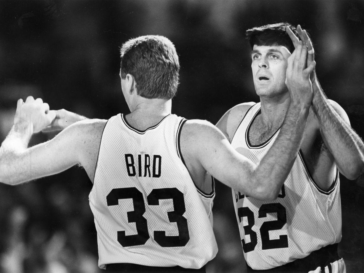 Boston Celtics Larry Bird And Kevin McHale