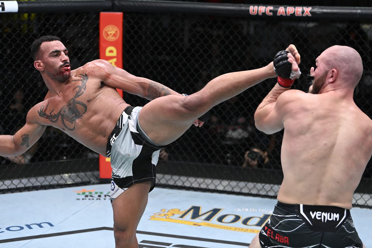 UFC Fight Night: Cutelaba v Clark