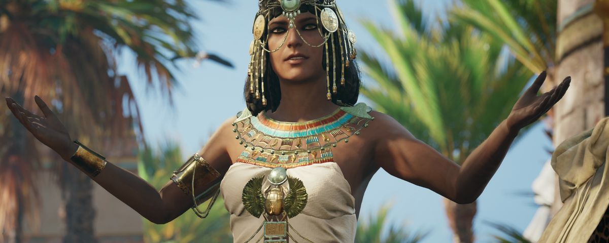 Assassin S Creed Origins Promiscuous Cleopatra Is Just Plain