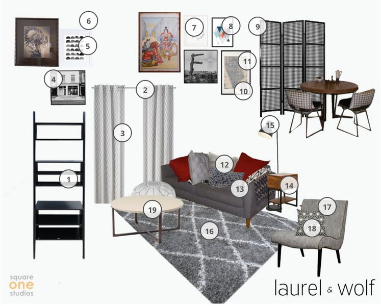 Laurel wolf 39 s interior design service makes adulting for Wolf laurel