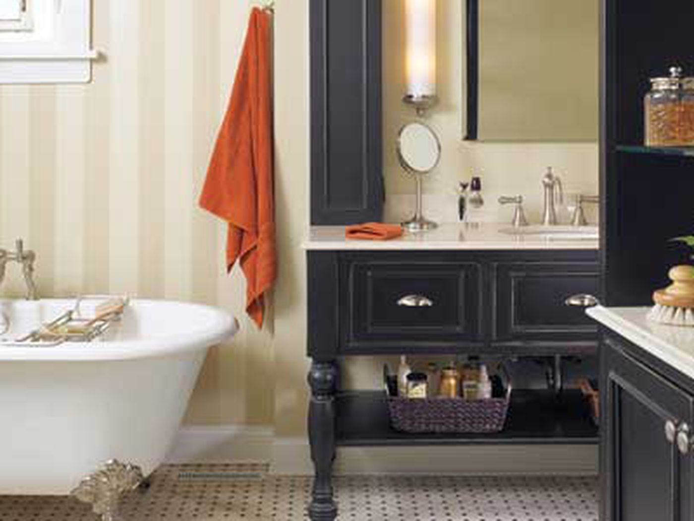 A Ho Hum Bath Becomes A Handsome Retreat This Old House