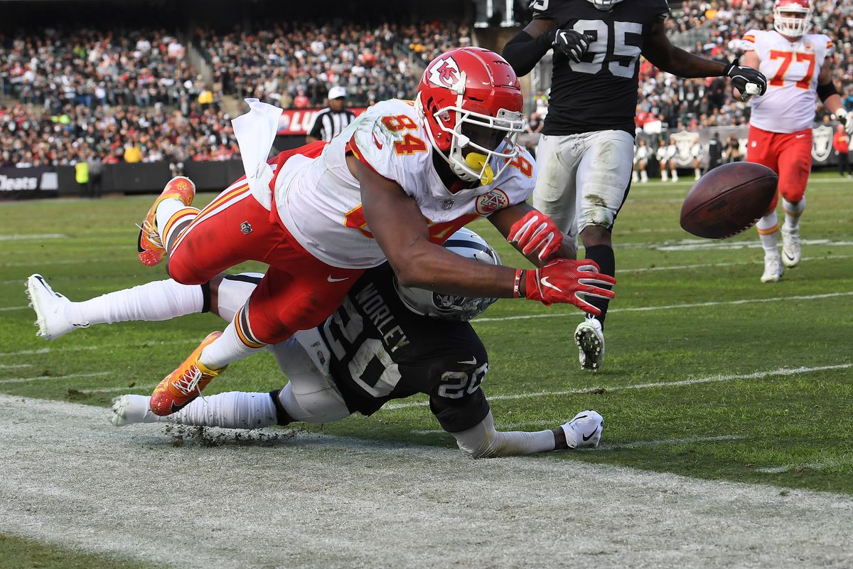 11fd443f2 The Morning After  Oakland Raiders vs Kansas City Chiefs - Silver ...
