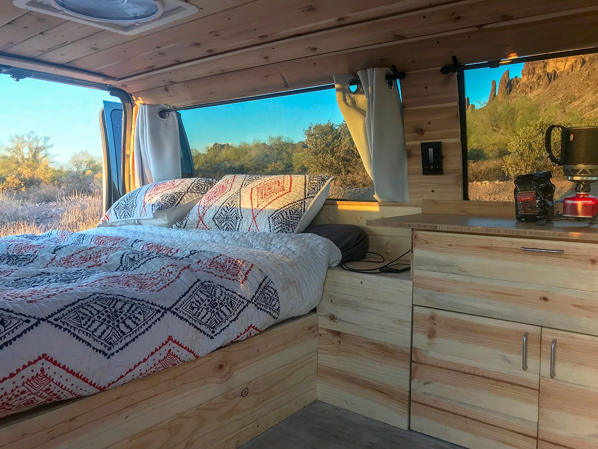 Converted Camper Van With Boho Style Is 35k Curbed