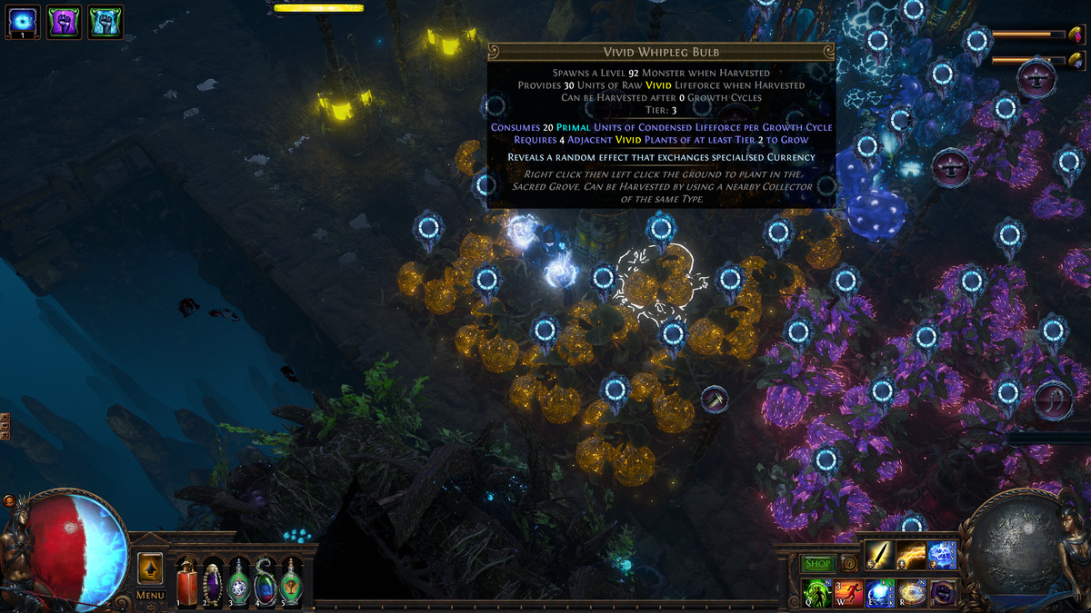 Path of Exile Harvest Tier 3 seeds