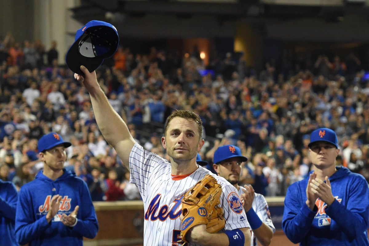 David Wright of the Mets During His Final Game